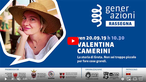 20.09.2019 - Bolzano - Valentina Camerini - Battaglie di libertà - Video integrale